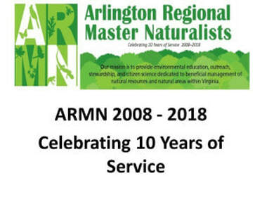 Arlington Regional Master Naturalists logo with text